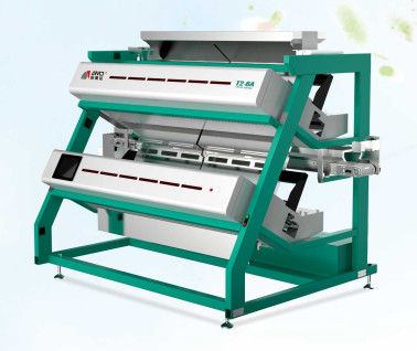 Low Carry Over Tea Color Sorter Machine One Key Intelligent Operation System