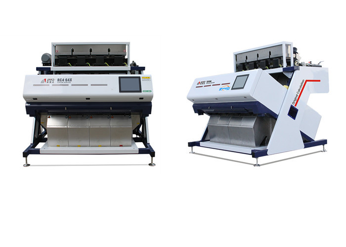 Compact Structure Grain Color Sorter Machine For Beans , Cereal Products